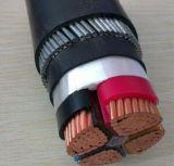 Câble blindé de Cu de 4 noyaux