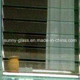 6mmのルーバーガラスシャッターガラスはWindowsのためのガラスを盲目にする