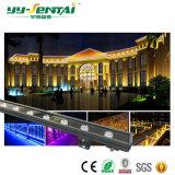 18W/RGB Color Único bañador de pared LED impermeable luz Ce/RoHS aprobado