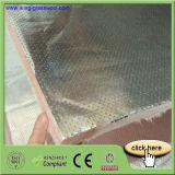 Panneau de panneau de laines de verre avec le papier d'aluminium