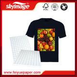 Classic T-Shirt de papel con gran calidad para el 100% tejido de algodón oscuro