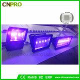 Luz de inundação 100W UV industrial do diodo emissor de luz com o 385nm a 400nm