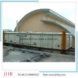 Betätigte FRP SMC bauen Wasser-Becken für Verkauf zusammen