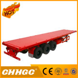 3 Aanhangwagen van de Aanhangwagen van de Vrachtwagen van de Container van de as 45FT de Semi Flatbed Semi
