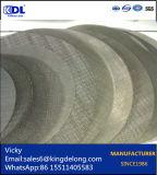 Фильтр полотняного фильтра провода фабрики Китая сплетенный оборудованием
