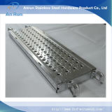 Baugerüst-Haken-Planke gebildet vom kalten Bened perforierten Metall