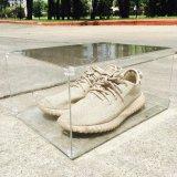 En acrylique transparent boîte à chaussures magnétique