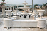 Sculpture en pierre Sculpture Water Feature Fontaine en marbre pour décoration de jardin