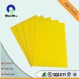Stationery grade PVC rigide Feuille Reliure Couverture PVC Film