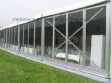 Snowproof weißes Dach-Oberseite-Glaswand-Hochzeits-Festzelt-Zelt 10m*30m