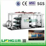 Matériel d'emballage haute vitesse Machine d'impression flexographique 6 couleurs