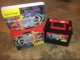 DIN45mf 12V45ah wartungsfreies Leitungskabel-saure Auto-Speicherbatterie