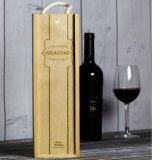 Hotsale ha personalizzato il contenitore di legno di vino rosso con il prezzo più poco costoso