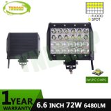 ATV SUV 트럭을%s 4inch 36W 4 줄 LED 표시등 막대