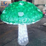 IP44のOutdoorの庭DecorationのためのLED Acrylic Outdoor Decoration Mushroom Christmas Lights