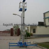 10m hidráulico eléctrico o de baterías de aluminio de aleación de Plataforma de elevación