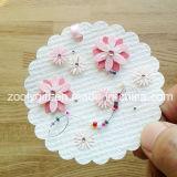 La impresión de etiquetas colgantes decorativos / hecho a mano flor impresa DIY Arte de papel