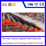 Alto Piatto-Tipo separatore magnetico per i minerali metalliferi, polvere di pendenza di mica