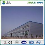 Costruzione prefabbricata della struttura d'acciaio per il gruppo di lavoro del magazzino