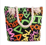 Tendance tenue dans la main de sac de sac de haute qualité neuf de toile la grande de la variété femelle de sac de sacs de plage