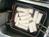 Ressort fabriqué à la main Rolls du légume 17g/Piece de 100% congelé par IQF avec la conformité de Brc