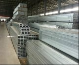 tubo de acero de acero cuadrado galvanizado tubo/Pre-Galón de la INMERSIÓN caliente de 50X50m m/tubo soldado