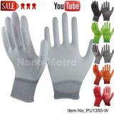 Белый ПУ покрытием перчатка Топ Палм Fit СИЗ безопасности труда