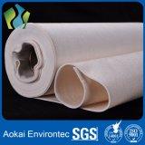 Tela filtrante Aguja-Perforada resistente da alta temperatura de Aramid