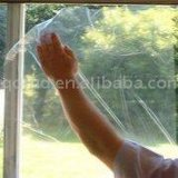 Película transparente de la ventana de cristal