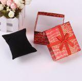 Croco Pattern Christmas Gift Box avec Nice Bowknot, boîte à bijoux créative, boîte cadeau