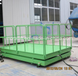 Relevage hydraulique de levage de type ciseaux du fret pour l'usine