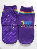 De antislip Sokken van Pilates van de Yoga niet van de Misstap van de Sokken van de Sprong van de Trampoline