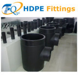 PE Pipe Fittings Injection Butt Fusion Tipo Welded Equal Tee