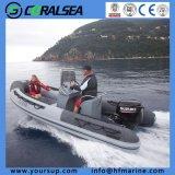 Bateaux gonflables de côte de qualité de PVC/Hypalon/FRP fabriqués en Chine