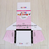 Caja de embalaje cosmética acanalada PDQ modificada para requisitos particulares de la visualización de la impresión