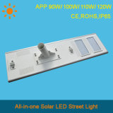 2016 APP 110W Integrated solar Calle luz LED