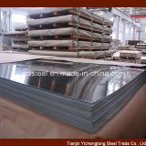 Plaque en acier inoxydable laminés à froid 304 Boîtier en bois