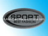Vêtement de haute qualité personnalisés/sac Étiquette de silicone