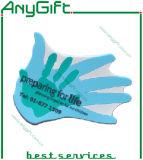 Posavasos de PVC de 2D con logotipo personalizado y el tamaño
