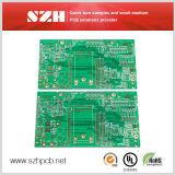 Высокое качество Fr-4 Lf-HASL готовой кнопки Двусторонняя копия системной платы для печатных плат