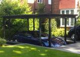 2 coches y aparcamiento coche hidráulica de elevación Elevación para reducir Garaje