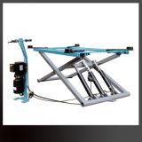 Bewegliche hydraulische Scissor Auto-Aufzug-Mobile 1.2m 2.8t Scissor Heber