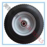 rotella solida del carrello della mano della sezione 16X6.5-8 dell'unità di elaborazione del pneumatico largo della gomma piuma