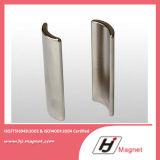 De super Sterke N42 Magneten van NdFeB van de Motor van het Segment van de C van de Boog Permanente