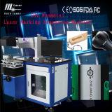 De CO2 machine de gravure d'inscription de laser de résine et d'agate en métal non