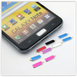 Samsung Galaxy S2 (AP-008)를 위한 다채로운 Aluminum Home Button Sticker
