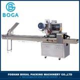 Operação fácil torta de ovo integral da máquina de embalagem de almofadas &automático de alimentação do sistema de embalagem