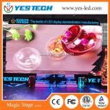 Módulo de interior y al aire libre a todo color de la visualización de LED del alquiler