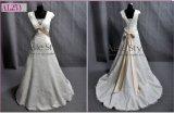 두 배 모자는 소매를 단다 아름다운 결혼 예복 (AL253)를