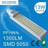 CE Rhos 13W クールホワイト G24 LED PL ライト ( 3 年間の保証)